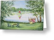 4 Seasons-summer Greeting Card