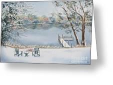 4 Seasons-winter Greeting Card