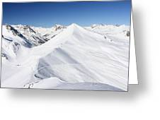 Serre Chevalier In The French Alps Greeting Card
