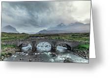 Sligachan - Isle Of Skye Greeting Card