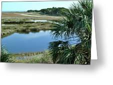 St Mark's Lagoon Greeting Card