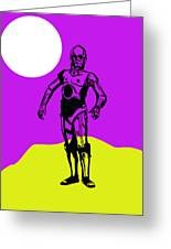 Star Wars C-3po Collection Greeting Card