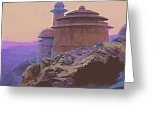 Star Wars Galaxies Poster Greeting Card