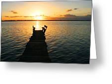 Sunrise / Sunset / Indian River Greeting Card