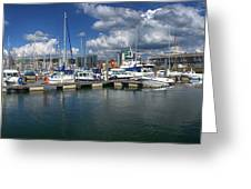 Sutton Harbour Plymouth Greeting Card