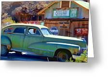 Techatticup Mine Ghost Town Nv Greeting Card