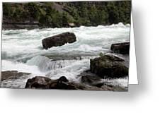 The Niagara River Greeting Card