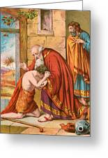 The Return Of The Prodigal Son Greeting Card
