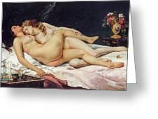 The Sleepers Greeting Card