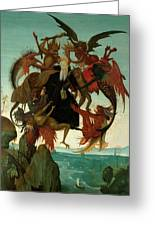 The Torment Of Saint Anthony Greeting Card