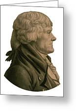 Thomas Jefferson Profile Greeting Card
