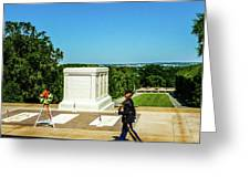 Tomb Of The Unknowns Greeting Card