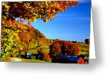 W H Landscape Greeting Card