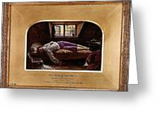 Wallis Henry The Death Of Chatterton2 Henry Wallis Greeting Card