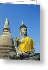 Wat Mahathat Greeting Card