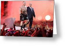 Wrestling Greeting Card