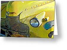 '40 Chevy Greeting Card