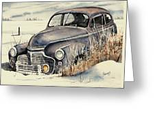40 Chevy Greeting Card