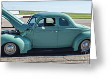 40 Ford Deluxe Greeting Card