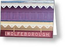Wolfeboro Nh Greeting Card