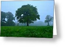 Work Landscape Greeting Card