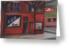 400 Bar Minneapolis Greeting Card