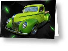 40s Ford Greeting Card
