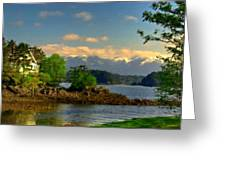B Y Landscape Greeting Card