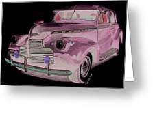 41 Chevy Greeting Card