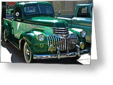 41 Chevy Truck Greeting Card