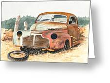 '41 Fleetline Greeting Card