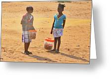 Mozambique Greeting Card