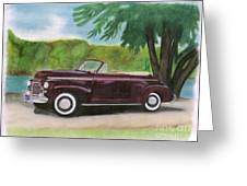42 Chevy Greeting Card