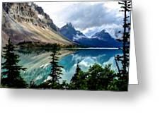 J C Landscape Greeting Card