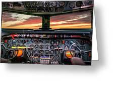 4245- Cockpit Greeting Card