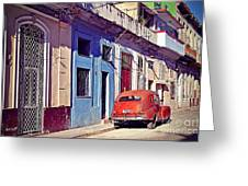 Havana Cuba Greeting Card