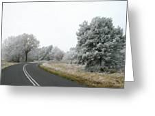 Landscape Wall Art Greeting Card