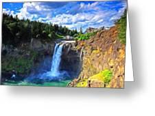 P G Landscape Greeting Card