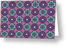 Arabesque 081 Greeting Card