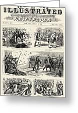 Great Railroad Strike, 1877 Greeting Card