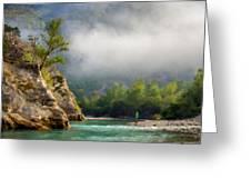 Landscape Luminous Greeting Card