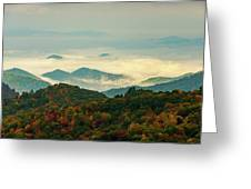 North Carolina Fall Colors Greeting Card