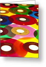 45 Rpm Greeting Card
