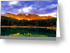 W Landscape Mn Greeting Card