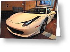 458 Italia Greeting Card