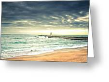 Landscape Work Greeting Card
