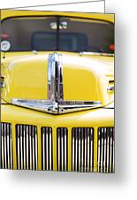 46 Pick Up In Yellow Greeting Card