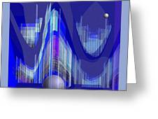 460 - City Of Future 1 ...  Greeting Card