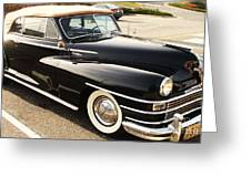 47 Packard Greeting Card