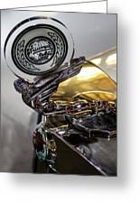 47 Triumph Roadster Greeting Card
